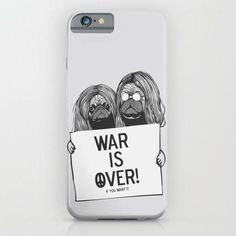John Lennon And Yoko Ono Pugs- For iPhone 6 Case