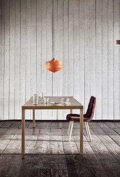 Spisebord i messingforgyldt jern - 200x100