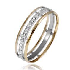 bague or blanc diamant leclerc