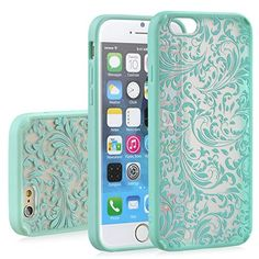 "iPhone 6 Case - VENA [TACT ARMOR] Shock Absorbent Slim Hybrid Quill Pattern Cover for Apple iPhone 6 (4.7"") - Teal Vena http://www.amazon.com/dp/B00PUMSUX2/ref=cm_sw_r_pi_dp_6hCVub1SHK0S2"