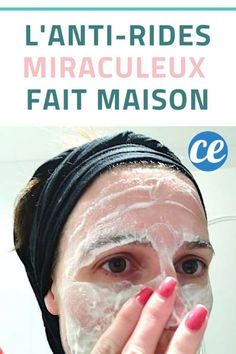 L'Anti-Rides Miraculeux Que l'On Peut Facilement Faire Soi-Même. - L'Anti-Rides Miraculeux Que l'On Peut Facilement Faire Soi-Même. Diy Beauty Face, Beauty Care, Beauty Skin, Health And Beauty, Masque Anti Ride, Mascara Hacks, Wrinkle Remedies, Beauty Hacks For Teens, Beauty Ideas