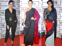 Lakme Fashion Week Summer-Resort 2015 has been a star-studded affair right from opening night. From front row seats to the ramp, Bollywood celebrities have been spotted everywhere dressed in their favourite designers and looking as dazzling as ever. Take a look at the stars we caught on camera. Image courtesy: BCCL/Facebook Don't Miss!Bollywood Celebrities at the Sabyasachi Curtain Raiser