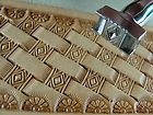 Pro Crafters Series Diamond Basket Weave Stamp Leather Stamping Tool | eBay