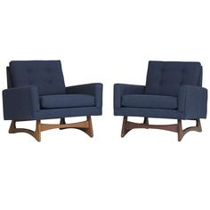lounge chairs, pair by Adrian Pearsall for Craft Associates