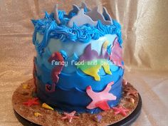 Torta fauna marina - Sea life cake  by Fancy Food and Cakes