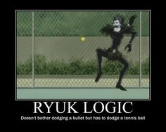 Death Note - Ryuk Logic by firenight617.deviantart.com on @deviantART