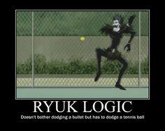 Death Note - Ryuk Logic by firenight617.deviantart.com on @deviantART