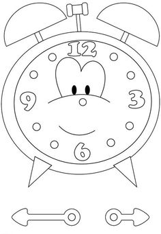And We Have Brads To Make The Clock Spin Good For Younger Kids