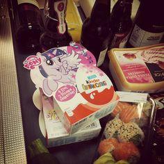 Ü-Eier #Sushi und #CraftBeer :D oder auch: juhu Wochenende! :D