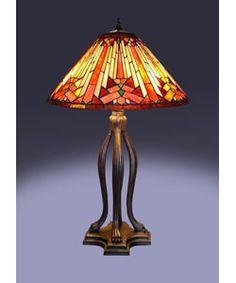 mesa table lamp bronze