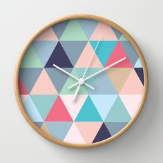 Nordic Geo Clock by Cloud Nine Creative