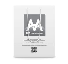 #Bag for DM Tech&Services #adv #technology #paper #print #grafica #graphic #design