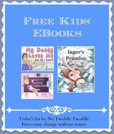 I found several great picture books for free today. In addition, the Kindle Fire is on sale as well as some children's classics such as The Boxcar Children.: