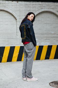 Kim Sungchan, Street style men spring 2018 in seoul