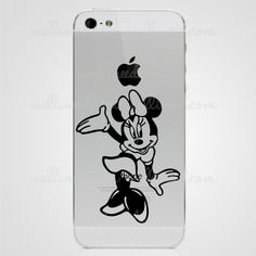 Minnie Mouse iPhone Sticker
