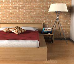 [Letto Comodo] È difficile pensare che questo sia un letto contenitore... Eppure il suo design minimal racchiude due capienti cassetti sotto letto salvaspazio! (It's hard to think that this is a container bed ... Yet its minimal design includes two large space-saving drawers under the bed!) #Cinius