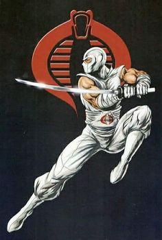 Storm Shadow by Damon Bowie Comic Movies, Comic Books Art, Comic Art, Thundercats, Anime Comics, Marvel Comics, Comic Character, Character Design, Gi Joe Characters