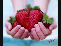Valentines made with strawberry hearts? I Love Heart, With All My Heart, Happy Heart, Love Is All, Grateful Heart, Strawberry Hearts, Strawberry Fields, Strawberry Patch, Strawberry Recipes
