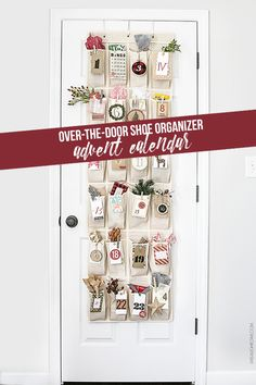 Adorable Woodland Inspired Advent Calendar using an over-the-door organizer + printable number tags Advent Calenders, Diy Advent Calendar, Calendar Printable, Calendar Ideas, Christmas Calendar, Countdown Calendar, Christmas Makes, Christmas Holidays, Happy Holidays