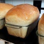 loaf of buttermilk honey bread