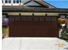 Gallery Short Panel Short Windows With Square Grilles Walnut Finish