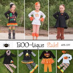 Boo-tique sale, more new outfits listed!