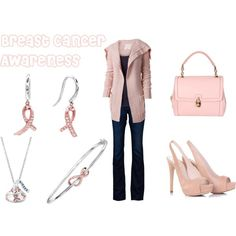 Breast Cancer Awareness, created by agenesi.polyvore.com