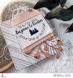 """Eva : Tampons et matrices de coupe (dies) #4enSCRAP """"Le Père Noël est une ordure"""""""