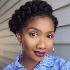 Timeless; The Crown Braid - http://community.blackhairinformation.com/hairstyle-gallery/braids-twists/simple-and-cute/
