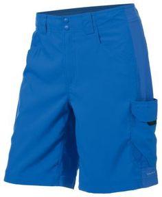 Columbia PFG Big Katuna II Shorts for Men - Vivid Blue - 32