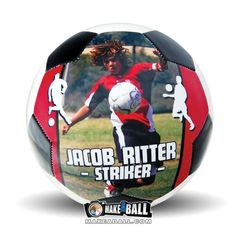 If you are looking for the best gift for a soccer player, coach, team, or fan, look no further than custom soccer balls by Make-A-Ball. Our design tool makes the program so easy to use you can create your very own personalized soccer ball in no time at all. Visit our site to put a picture or design on a custom sports or athletic gift at makeaball.com