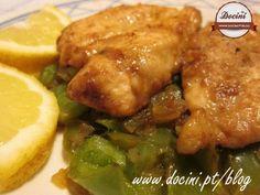 Receita Bifes de peru com molho de limão, de Docini - Petitchef