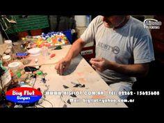 La Quebrada del Zurdo Guerra - aparejo para pesca de pejerrey de playa - MINUTO DE PESCA HD - YouTube