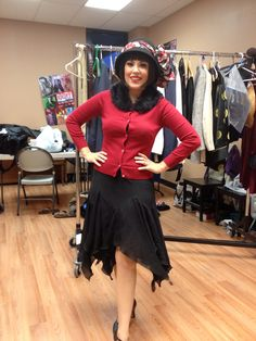 Throughly modern millie  2013 attic  Helped put together costumes