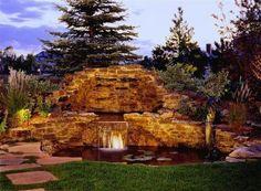 Minnesota landscape design inspired by bali natural for Koi pool water gardens thornton