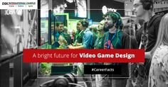 #CareerFacts With multi-million cash prizes now available in E-sports, games like Dota 2 and CS:Go are providing career options to not just professional gamers but also many developers and video game designers, subsequently boosting the Indian video game market. #DSKIC #DSKInternationalCampus #Pune