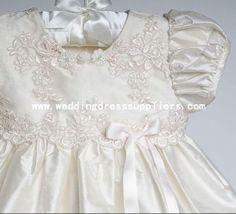 Italian Christening Gowns | custom ch002 handmade taffetà abito da sera con perline applique ...