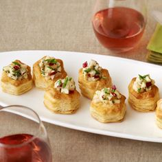 Pepperidge Farm® Puff Pastry: Pear, Gorgonzola and honey cups