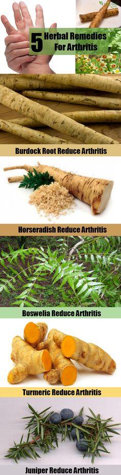 5 Effective Herbal Remedies For Arthritis