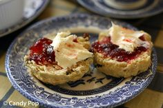 British cream tea via Candy Pop's blog