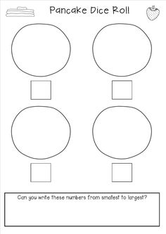I thought I'd write a quick post to share a little Maths activity that we used for Pancake Day (Shrove Tuesday). Pancake Day Maths, Pancake Day Crafts, Shrove Tuesday Activities, Pancake Day Shrove Tuesday, Kindergarten Activities, Easter Activities, Everything Preschool, Teaching Tools, Teaching Ideas