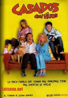 Casados con hijos   (Married with children)  Married with children remakes by other countries.  I know of 3 - Chile, Colombia, and Argentina (Pictured)