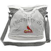 St. Louis Cardinals Ladies Ash Hoodie Duffel Bag