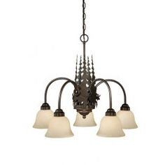 Vaxcel Yellowstone Five-Light Chandelier in Burnished Bronze, Rustic/Lodge Cabin Chandelier, Wheel Chandelier, 5 Light Chandelier, Chandelier Shades, Chandelier Pendant Lights, Lantern Pendant, Chandeliers, Rustic Lamps, Room Lamp