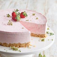 Frozen Strawberry Yogurt Pie Recipe - Taste of the South