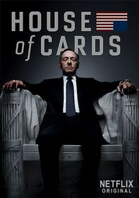 House of Cards - So damn good! Kevin Spacey's character is a perfect balance of Southern charm and pure evil. I love it!