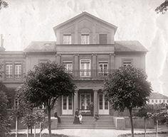 Villa Mertz vor dem Bombeneinschlag 1944