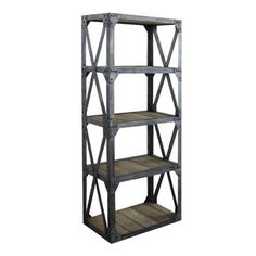 Industrial Bookshelf I, $1,099, now featured on Fab.