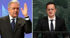 Szíjjártó keményen beleszállt az ENSZ-nek betelepítést ígérgető EU-s migrációs biztosba Edm