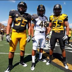 New MIZZOU football uniforms. SO AWESOME.